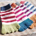 爪水虫・爪白癬の靴下は五本指ソックスがオススメ!洗濯はこまめに